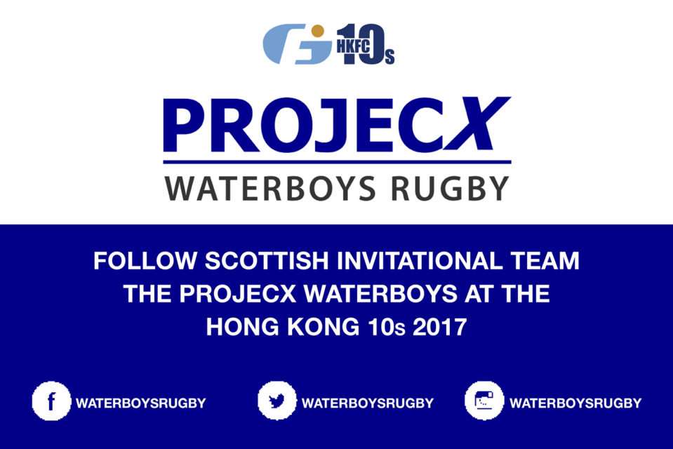 PROJECX Waterboys banner
