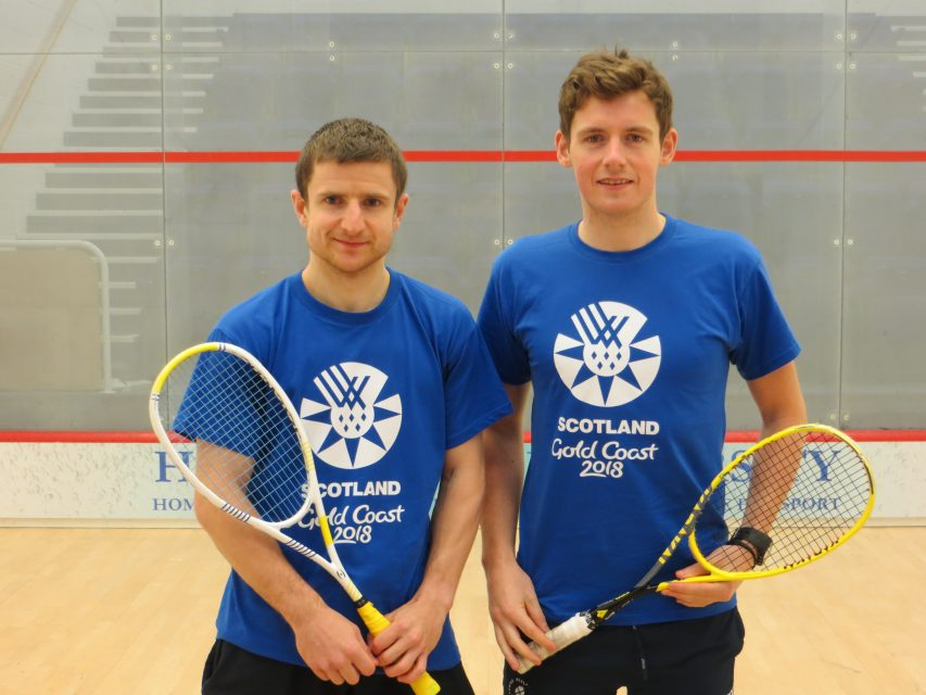 Alan Clyne and Greg Lobban